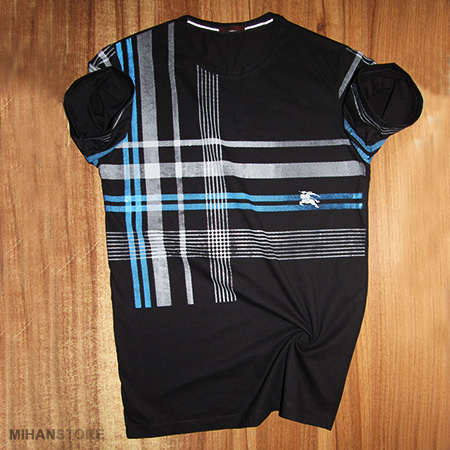 تی شرت مردانه Burberry طرح Stripe