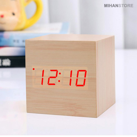 ساعت و دماسنج LED رومیزی