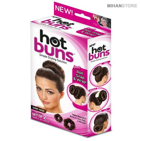 تل مو جادویی Hot Buns