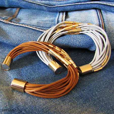 دستبند اسپرت دخترانه مگنتی
