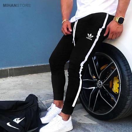 شلوار اسلش مردانه Adidas طرح BlackBird
